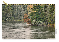 Ausable River 9899 Carry-all Pouch by Michael Peychich