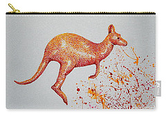 Aussie Roo Carry-all Pouch by Tamyra Crossley