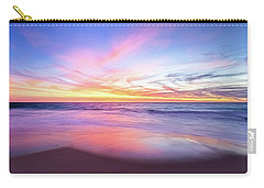Carry-all Pouch featuring the photograph Aussie Sunset, Claytons Beach, Mindarie by Dave Catley