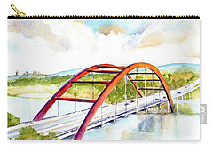 Austin 360 Bridge - Pennybacker Carry-all Pouch