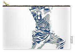 Austin Barnes Los Angeles Dodgers Pixel Art 1 Carry-all Pouch