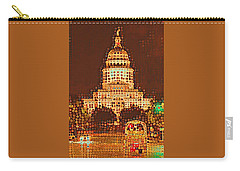 Austin Capitol At Night Carry-all Pouch