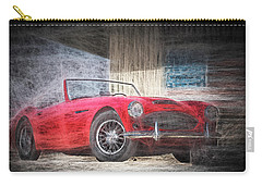 Austin Healey Chalk Study 4 Carry-all Pouch