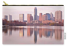 Austin Seasonal Reflection Carry-all Pouch by Frozen in Time Fine Art Photography