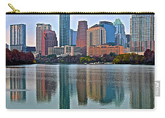 Austin Shimmer  Carry-all Pouch by Frozen in Time Fine Art Photography
