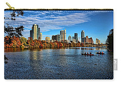 Austin Skyline From Lou Neff Point Carry-all Pouch by Judy Vincent