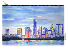 Austin Skyline Sunset Glow Carry-all Pouch