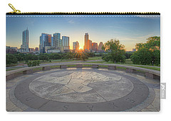 Austin, Texas, May Skyline Sunrise 1 Carry-all Pouch by Rob Greebon