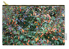 Carry-all Pouch featuring the photograph Austin Tree Pano by Ellen Barron O'Reilly