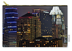 Austin Up Close Carry-all Pouch by Frozen in Time Fine Art Photography