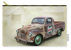 Carry-all Pouch featuring the photograph Austin Ute by Keith Hawley
