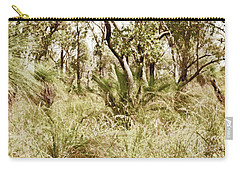 Carry-all Pouch featuring the photograph Australian Bush by Cassandra Buckley