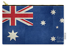 Australian Flag Vintage Retro Style Carry-all Pouch