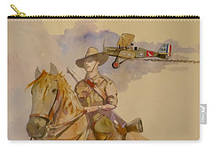 Australian Light Horse Regiment. Carry-all Pouch by Ray Agius