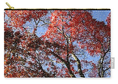 Autum Trees Illustrated Carry-all Pouch
