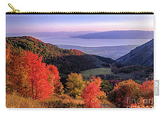 Autumn Above Utah Lake Carry-all Pouch