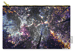 Autumn Abstract Carry-all Pouch by David Stasiak