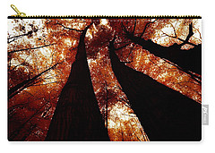 Autumn Canopy Abstract Carry-all Pouch