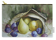 Carry-all Pouch featuring the painting Autumn Again by Elena Oleniuc