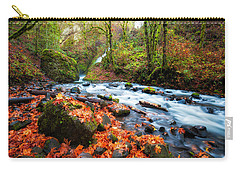 Autumn Along Bridal Veil Carry-all Pouch