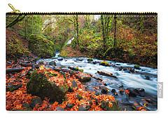Autumn Along Bridal Veil Carry-all Pouch