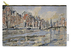 Autumn Along The Amstel In Amsterdam Carry-all Pouch