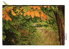 Carry-all Pouch featuring the photograph Autumn Along The Bog Burn by RKAB Works