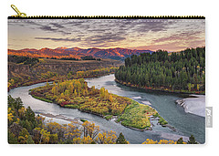 Autumn Along The Snake River Carry-all Pouch