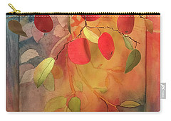 Autumn Apples 3d Carry-all Pouch