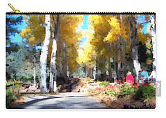 Autumn Aspens Carry-all Pouch