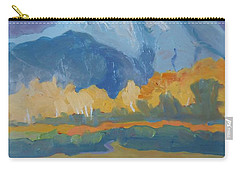 Autumn At Mt. Moran Carry-all Pouch