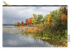 Autumn At The Lake In Nh Carry-all Pouch