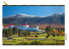 Autumn At The Mount Washington Crop Carry-all Pouch