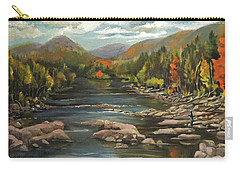 Autumn At The Pemi From Thornton New Hampshire Carry-all Pouch