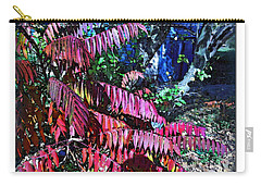 Carry-all Pouch featuring the photograph Autumn At The Taverne by Joan  Minchak