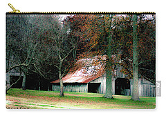 Autumn Barn In Alabama Carry-all Pouch