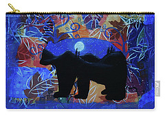 Autumn Bear Silhoutte Carry-all Pouch