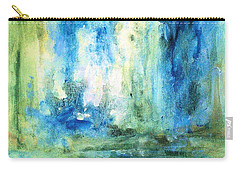Spring Rain  Carry-all Pouch by Laurie Rohner