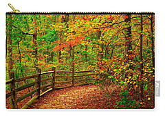 Autumn Bend - Allaire State Park Carry-all Pouch