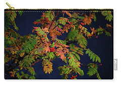 Carry-all Pouch featuring the photograph Autumn Berries by RKAB Works