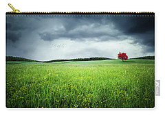 Carry-all Pouch featuring the photograph Autumn by Bess Hamiti