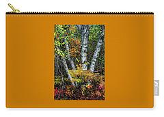 Autumn Birch Carry-all Pouch