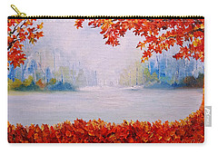 Autumn Blaze Maple Trees Carry-all Pouch