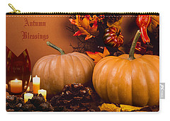 Autumn Blessings Carry-all Pouch