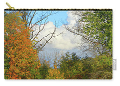 Autumn Breeze Nature Art Carry-all Pouch by Robyn King