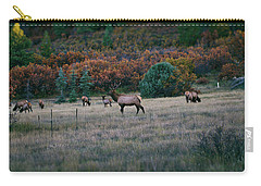 Autumn Bull Elk Carry-all Pouch
