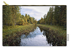 Autumn By The Riverside Carry-all Pouch