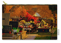 Autumn Cemetery Carry-all Pouch