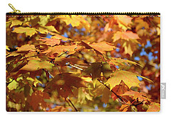 Carry-all Pouch featuring the photograph Autumn Colors 3  by Angie Tirado