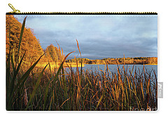 Autumn Colors At The Lake Enajarvi Carry-all Pouch